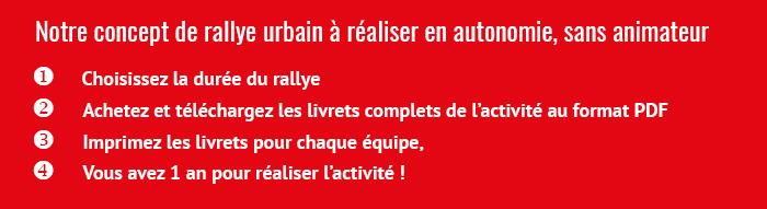 City Rallye Challenge - Comment ça marche ?