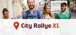 City Rallye XL pour team building séminaire entreprise école intégration, étudiante